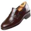 HiPlus 2004 M shoes in tafilete skin. Add 6 to 7 cm height