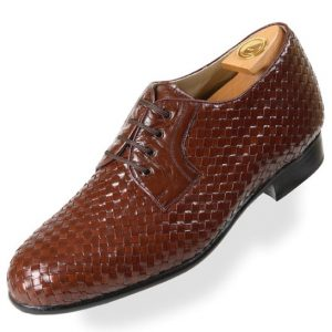 HiPlus 2012 M shoes in tafilete skin. Add 6 to 7 cm height