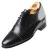 Footwear HiPlus 8009 N in boxcalf skin. Add 7 to 8 cm height