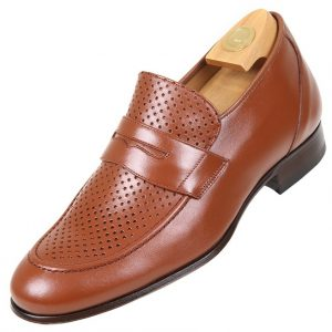 Shoes HiPlus 3506 MP in boxcalf skin. Add 5 to 6 cm tall