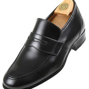 Footwear HiPlus 3506 N in tafilete skin. Add 5 to 6 cm tall