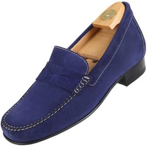 AZ 5010 HiPlus shoes in suede leather. Add 6 to 7 cm height