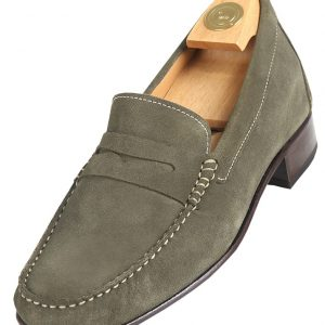 5010 V HiPlus shoes in suede leather. Add 6 to 7 cm height