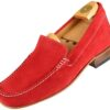 Footwear HiPlus R 5014 in split leather. Add 6 to 7 cm height