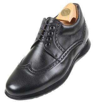 Shoe leather HiPlus 6027 Nc boxcalf. Add 6 to 7 cm height
