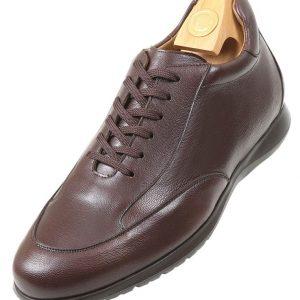 Footwear HiPlus 6631 M in boxcalf skin. Add 6 to 7 cm height