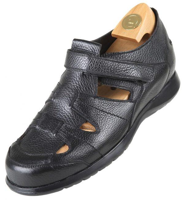 Footwear HiPlus 6300 N in boxcalf skin. Add 6 to 7 cm height
