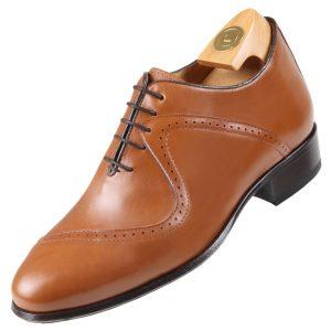 Footwear HiPlus 7009 M in boxcalf skin. Add 7 to 8 cm height