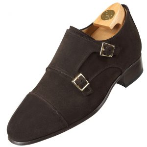 HiPlus shoes 7017 A suede leather. Add 7 to 8 cm height