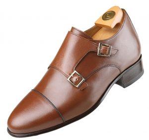 Footwear HiPlus 7017 M in boxcalf skin. Add 7 to 8 cm height