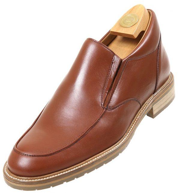 Footwear HiPlus 7400 M in boxcalf skin. Add 7 to 8 cm height