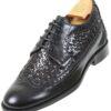 Footwear HiPlus 7512 N in boxcalf skin. Add 6 to 7 cm height