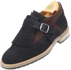 HiPlus 7516 Ns shoes leather suede. Add 7 to 8 cm height