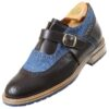 Footwear HiPlus 7516 Mv in boxcalf skin. Add 7 to 8 cm height