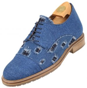 7522 V HiPlus shoes in denim. Add 7 to 8 cm height