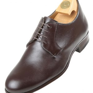 HiPlus 7530 M shoes in brown boxcalf. Add 6 to 7 cm height