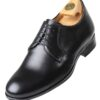 7530 N HiPlus shoes in black boxcalf. Add 6 to 7 cm height