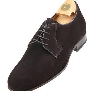 Footwear HiPlus 7530 A brown suede. Add 6 to 7 cm height