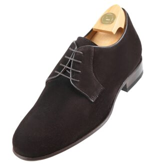 Footwear HiPlus 7530 A brown suede. Add 6 to 7 cm height