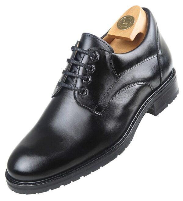 Footwear HiPlus 7533 N in boxcalf skin. Add 7 to 8 cm height