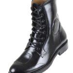 Footwear HiPlus 7540 N MOTOBOOT leather pull. Add 7 to 8 cm height