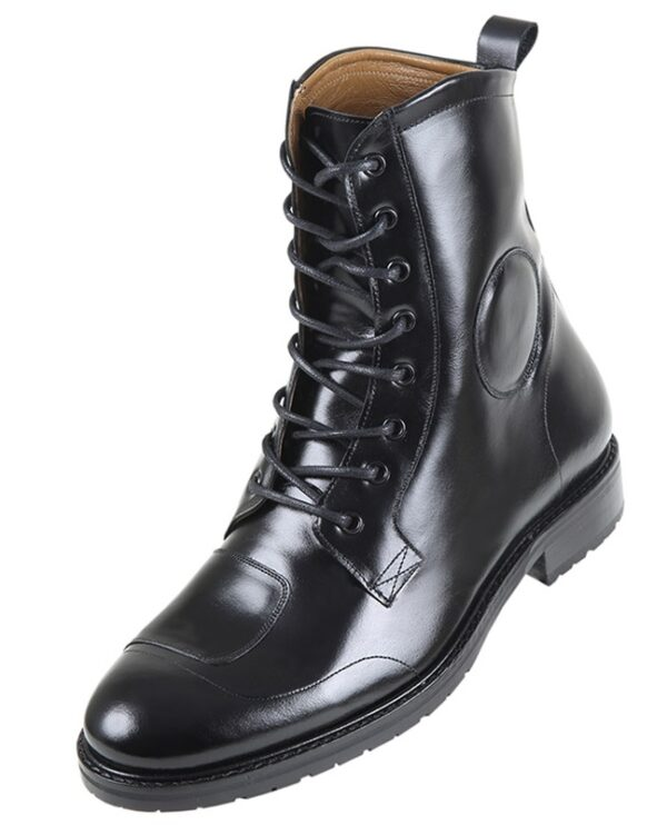 Footwear HiPlus 7540 N MOTOBOOT leather pull. Add 7 to 8 cm height
