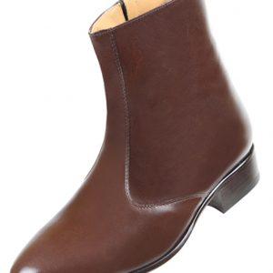 Footwear HiPlus 7611 M in tafilete skin. Add 7 to 8 cm height