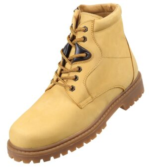 Footwear HiPlus 8040 M in split leather. Add 9 to 10 cm height