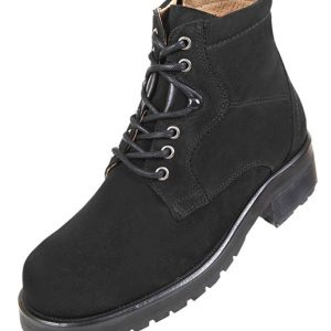 Footwear HiPlus 8040 N in split leather. Add 9 to 10 cm height