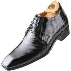 Shoe leather HiPlus 8430 Ch apanado patent. Add 7 to 8 cm height