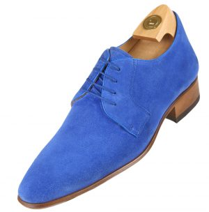 Elevator Shoes - HiPlus 8600 Az leather suede.
