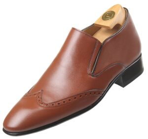 HiPlus 8605 Mc shoes in boxcalf skin. Add 7 to 8 cm height