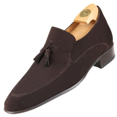 Footwear HiPlus 8614 A leather suede. Add 7 to 8 cm height