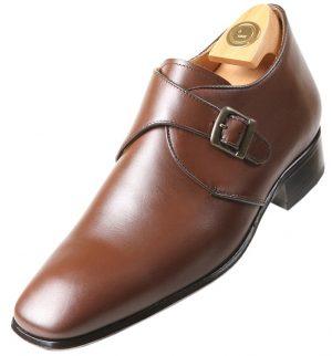 Footwear HiPlus 8717 M in boxcalf skin. Add 7 to 8 cm height