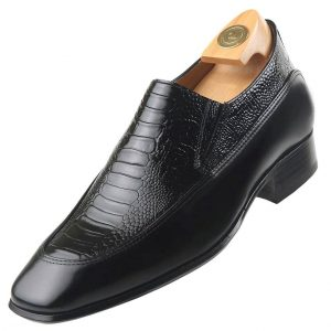Footwear HiPlus 8743 N in boxcalf skin. Add 7 to 8 cm height