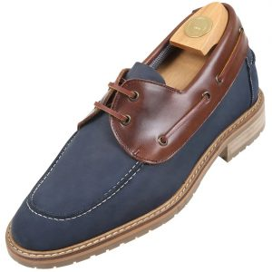 HiPlus 9010 AMc shoes in suede leather. Add 7 to 8 cm height