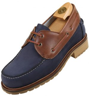HiPlus 9010 Amm shoes in suede leather. Add 7 to 8 cm height