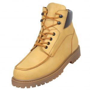 Footwear HiPlus 9040 A split leather skin. Add 8 to 9 cm height