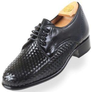 Footwear HiPlus 7019 N in tafilete skin. Add 6 to 7 cm height