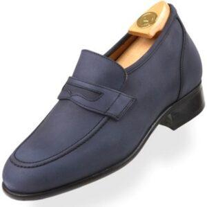 Footwear HiPlus 8006 AM in split leather. Add 7 to 8 cm height