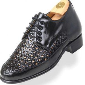 Footwear HiPlus 8018 N in tafilete skin. Add 7 to 8 cm height