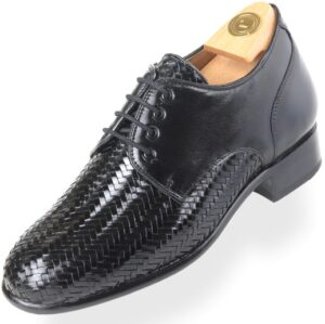 Footwear HiPlus 8019 N in tafilete skin. Add 7 to 8 cm height