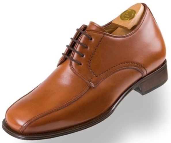 Footwear HiPlus 8142 M in boxcalf skin. Add 7 to 8 cm height