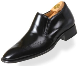Footwear HiPlus 8605 N in boxcalf skin. Add 7 to 8 cm height