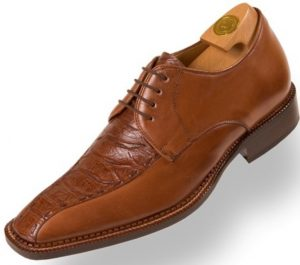 HiPlus 8442 M shoes in boxcalf skin. Add 7 to 8 cm height