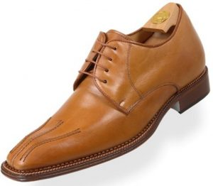 Footwear HiPlus 8443 M in boxcalf skin. Add 7 to 8 cm height